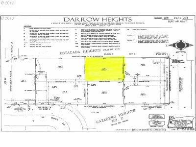 Estacada Residential Lots & Land For Sale: SE Darrow Rd #4