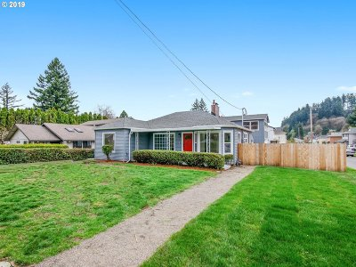 Single Family Home For Sale: 2738 SE 98th Ave