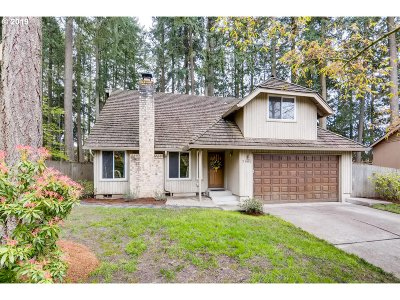 Beaverton Single Family Home For Sale: 7960 SW Carol Glen Pl