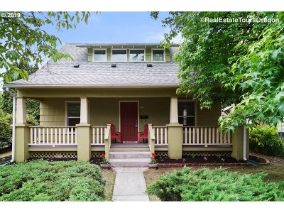 Single Family Home For Sale: 5642 SE Boise St