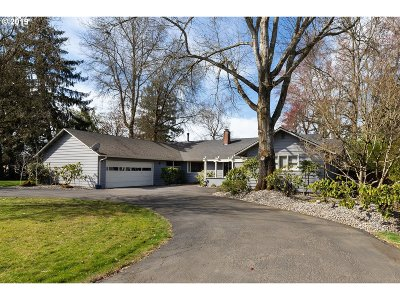 Canby Single Family Home Pending: 24489 S Barlow Rd