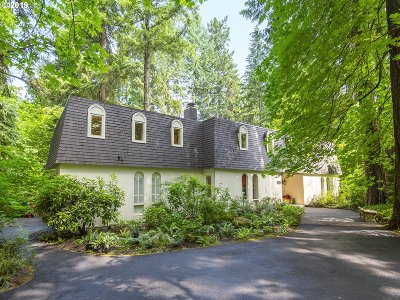 Lake Oswego Single Family Home For Sale: 2917 Westview Cir