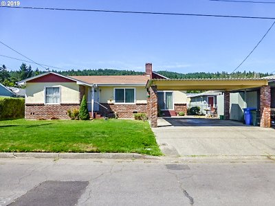Sutherlin Single Family Home For Sale: 967 E First Ave