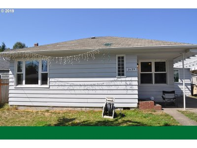 Albany Single Family Home Pending: 1639 16th Ave