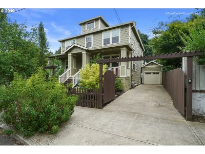Portland Single Family Home For Sale: 1116 NE Failing St