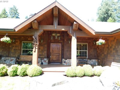 Coos Bay Single Family Home For Sale: 93473 Mill Road W