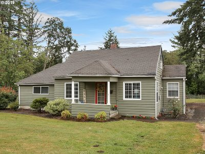 Molalla Single Family Home For Sale: 29789 S Molalla Ave