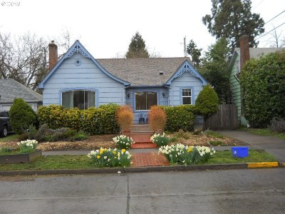 Eugene Single Family Home For Sale: 860 Polk St
