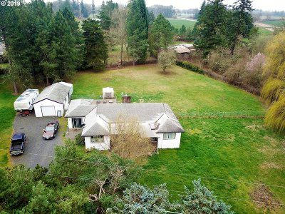 Washington County Single Family Home For Sale: 24680 NW Meek Rd