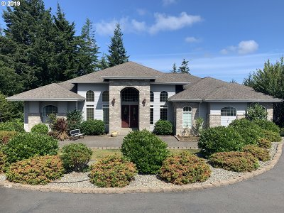 Coos Bay Single Family Home For Sale: 62922 Shriners Rd