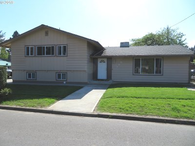 Canby Single Family Home Sold: 393 S Knott St