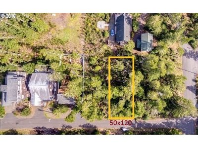 Manzanita Residential Lots & Land For Sale: 19th Street Lot 7