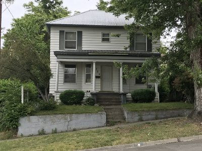 Pendleton Single Family Home For Sale: 720 S Main St