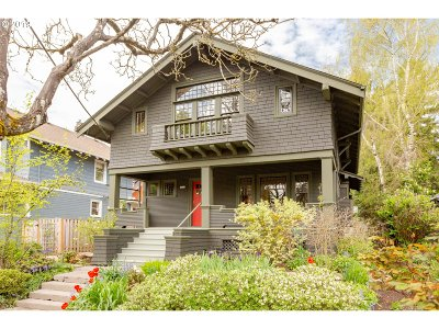 Portland Single Family Home For Sale: 3265 SE Stephens St