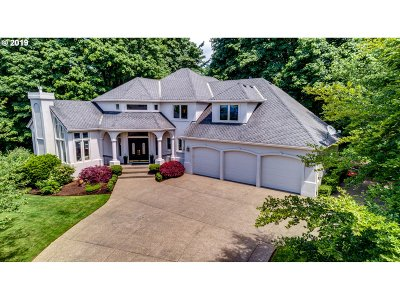 Multnomah County, Clackamas County, Washington County Single Family Home For Sale: 13805 NW Glendoveer Dr