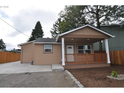 Single Family Home For Sale: 7824 SE 66th Ave