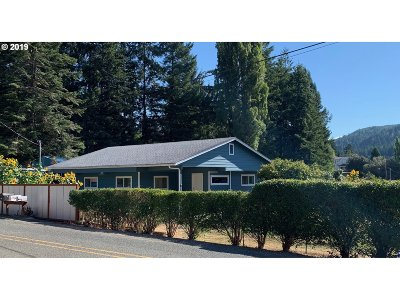 Coquille Single Family Home For Sale: 94370 Rink Creek Ln