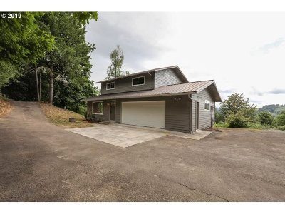 Cowlitz County Single Family Home For Sale: 281 Military Rd