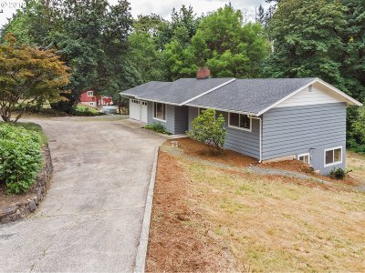 Clackamas County Single Family Home For Sale: 15202 Thayer Rd
