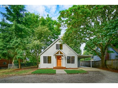 Salem Single Family Home For Sale: 1045 Glen View Way NW