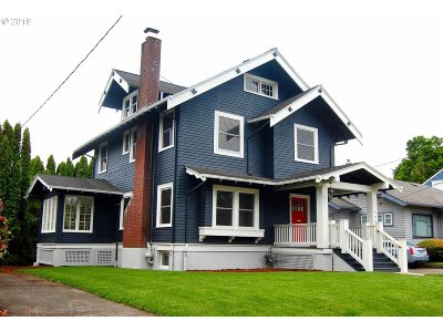 Portland Single Family Home For Sale: 3244 NE Schuyler St