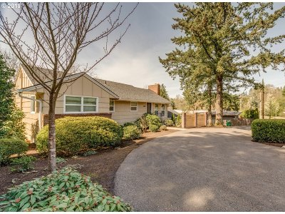 Single Family Home For Sale: 5859 SW Oleson Rd