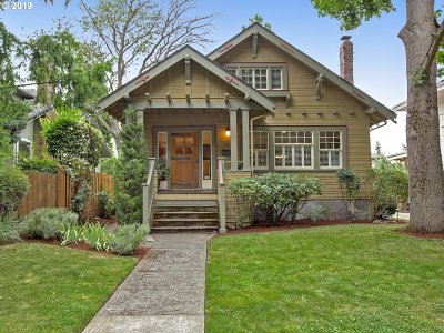 Portland Single Family Home For Sale: 2946 NE 9th Ave