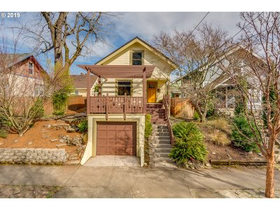 Multnomah County Single Family Home For Sale: 4522 N Congress Ave