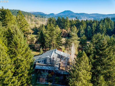 Eugene Single Family Home For Sale: 85995 Bailey Hill Rd