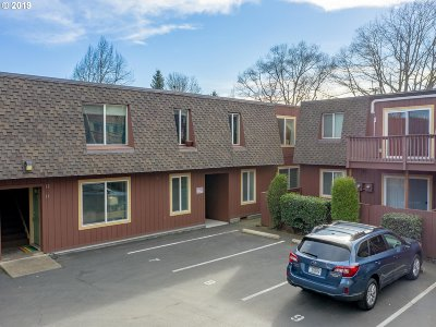 Multnomah County Condo/Townhouse For Sale: 8833 N Syracuse St #14