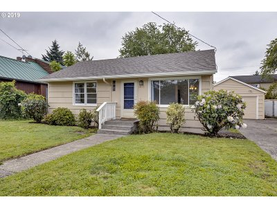 Single Family Home For Sale: 5017 SE 68th Ave