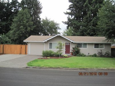 Eugene Single Family Home For Sale: 2563 Carbona St