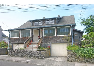 Seaside Single Family Home For Sale: 120/122 10th Ave