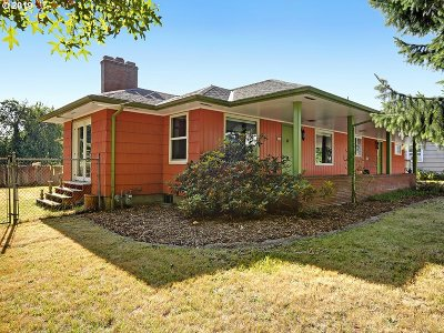 Single Family Home For Sale: 4104 NE 105th Ave