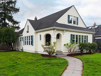 Portland Single Family Home For Sale: 3244 NE 45th Ave