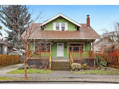 Portland Single Family Home For Sale: 4013 SE Grant St