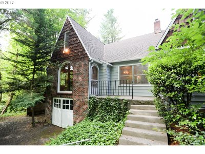 Multnomah County Single Family Home For Sale: 11325 NW Laidlaw Rd