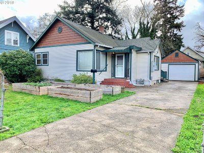 Single Family Home For Sale: 6343 SE 90th Ave