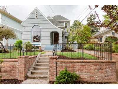 Portland Single Family Home For Sale: 2207 NE 12th Ave
