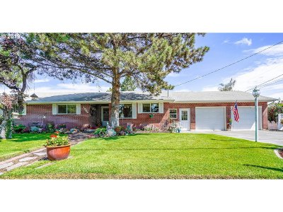 Umatilla County Single Family Home For Sale: 1040 W Highland Ave
