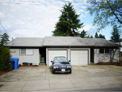 Salem Multi Family Home For Sale: 3450 Pringle (-3452) Rd SE