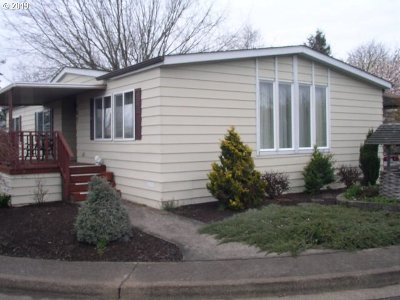 Eugene Single Family Home For Sale: 1199 N Terry St Space 167