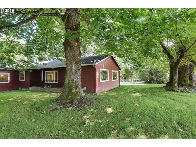 Single Family Home For Sale: 3641 SW Halcyon Rd