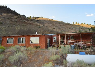 Grant County Single Family Home For Sale: 21856 N Hwy 395