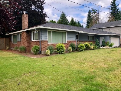 Tigard Single Family Home For Sale: 11675 SW 91st Ave