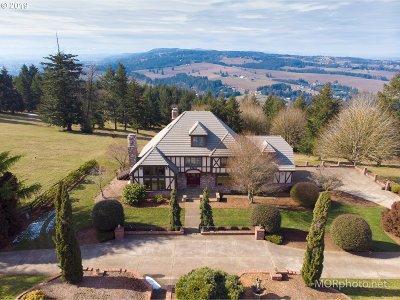Sherwood Single Family Home For Sale: 13825 NE Parrett Mtn