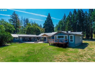Myrtle Creek Single Family Home For Sale: 15974 Old Highway 99 South