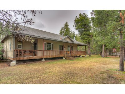 La Pine Single Family Home For Sale: 16190 South Dr