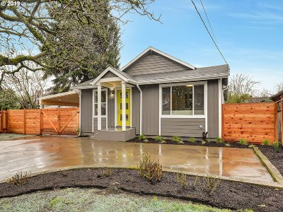 Portland OR Single Family Home For Sale: $499,500