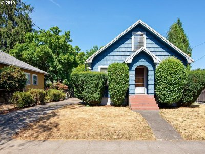Portland Single Family Home For Sale: 2221 N Schofield St